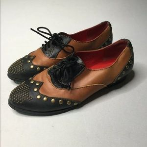 Free People Jeffrey Campbell Leather wing tips